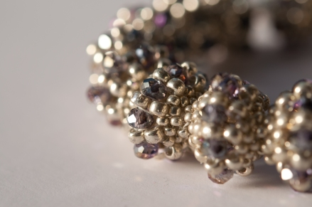Affinity Bangle - Jean Power (beaded by Sarah Cryer)