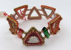 Tumbling Leaves bracelet