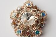 Amazon Jewel Pendant - Sabine Lippert (beaded by Sarah Cryer)