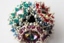 Flower Cube - Sabine Lippert (beaded by Sarah Cryer)