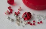 Aluminium & Scarlet