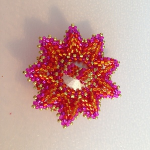 Secret Beadalong Day 5 (Back ) - Sarah Cryer Beadwork
