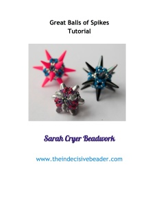Great Balls of Spikes Beading Tutorial - Google Docs