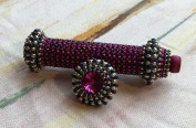 Art Deco Needle Case - Sarah Cryer Beadwork
