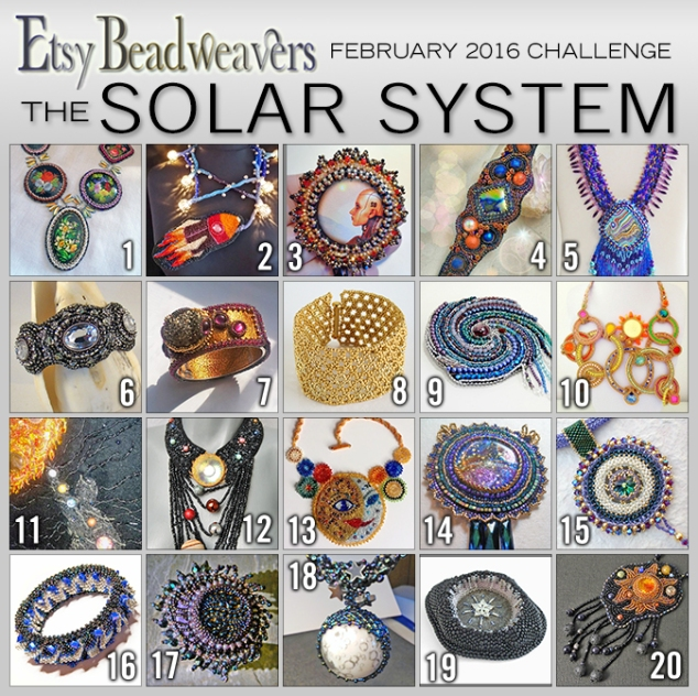 Etsy Beadweavers Feb 16 Solar System entries