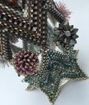 Semele's Cuff - The Indecisive Beader - Sarah Cryer Beadwork.