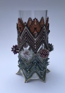 Semele's Cuff - The Indecisive Beader - Sarah Cryer Beadwork