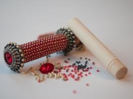 Crimson, Silver & Gunmetal