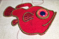 More back-stitch
