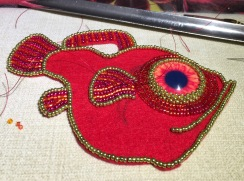 And more back-stitch