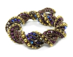 Bead Origami Supercoiled Rope